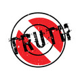 truth rubber stamp vector image vector image