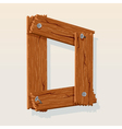 Wooden letter d vector | Price: 1 Credit (USD $1)