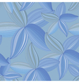 abstract flowers petals on a blue background vector image