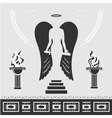 Avenging Angel vector image