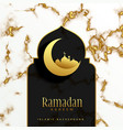 beautiful islamic ramadan kareem festival design vector image vector image