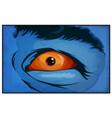 comic books mutant superhero eyes scared vector image vector image