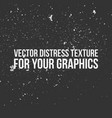 distress texture for your graphics vector image vector image