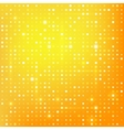 Gold background with dots vector image vector image