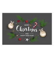 modern holidays background with christmas tree vector image vector image