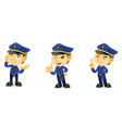 Policeman 2 vector image