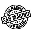san marino black round grunge stamp vector image vector image