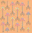 Seamless colorful ethnic pattern with