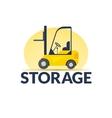Storage logo vector image vector image