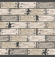 wood whitened floor tiles pattern seamless vector image vector image