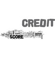 Average american credit score see if you are vector image