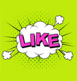 like thumbs up like icons for social network vector image vector image