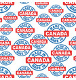 made in canada seamless pattern background icon vector image