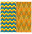 tile zig zag pattern set for seamless decoration vector image vector image