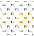 urban taxi pattern seamless vector image