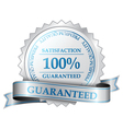Premium guarantee label vector image