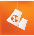 atomic power station icon vector image vector image