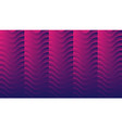 blue and purple abstract neon geometric wavy vector image vector image
