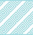 greek style meander geometric seamless pattern vector image vector image