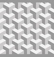 seamless 3d geometrical pattern of overlapping vector image