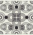 tangled circles wallpaper vector image