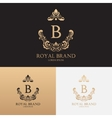 template logo boutique brand vector image