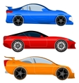 Design a Sports Car and Muscle Car vector image