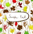 autumn illustration vector image vector image