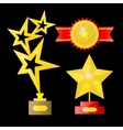 Award isolated on white vector image