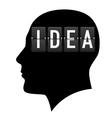 Creative ideas vector image vector image