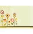 Many colour flowers vector image vector image