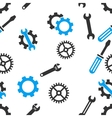 Mechanical Tools Seamless Flat Pattern vector image vector image