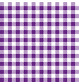 purple table cloth squares stylish background vector image vector image