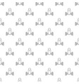 robot spider pattern seamless vector image