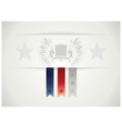 USA emblem in the traditional style of the peoples vector image vector image