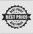 best price sale scratch grunge rubber stamp vector image vector image