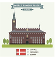 Copenhagen vector image vector image