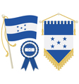 Honduras flags vector image