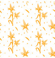 seamless pattern with corn design template vector image