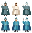 Set of Mages vector image vector image