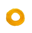 Yellow ring vector image