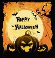 Spooky Halloween Card vector image