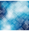 abstract blue transparent square background vector image vector image
