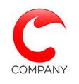 cs letter logo vector image