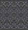 gray royal pattern the seamless background vector image vector image