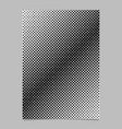 Halftone dot pattern brochure background template