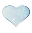 love winter vector image vector image