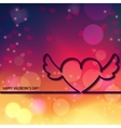 Outline Valentines day 1 vector image vector image