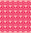 seamless background valentine symbol in the form vector image