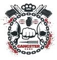 Street Gang Wars Print vector image vector image
